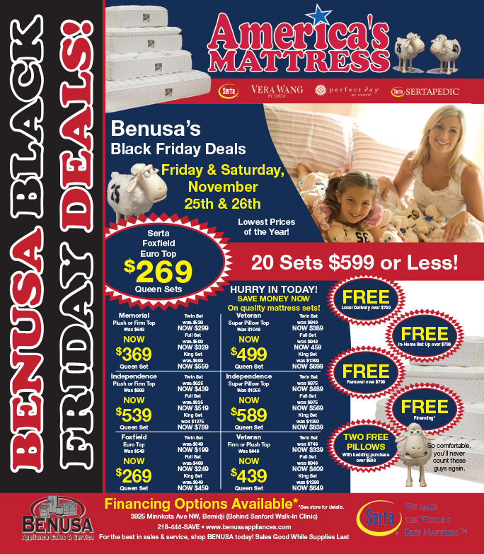 Benusa We-Prints Plus Newspaper Insert by Any Door Marketing
