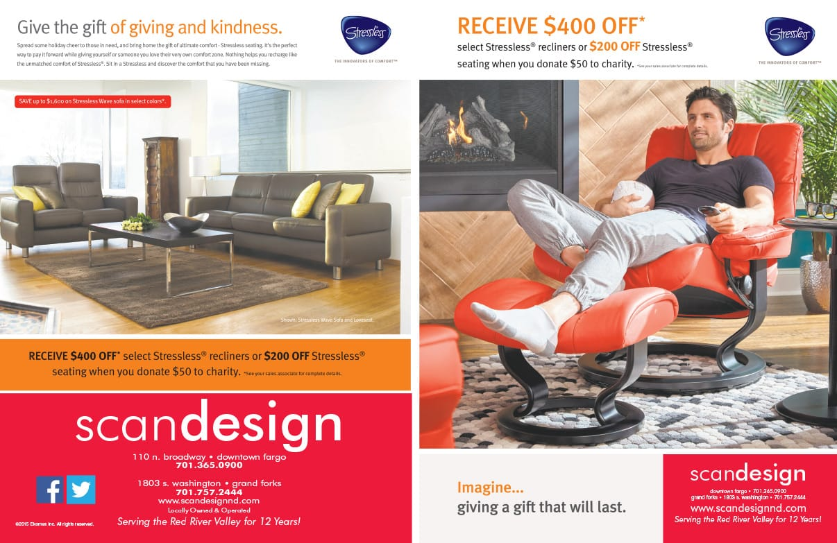 Scan Design We-Prints Plus Newspaper Insert by Any Door Marketing