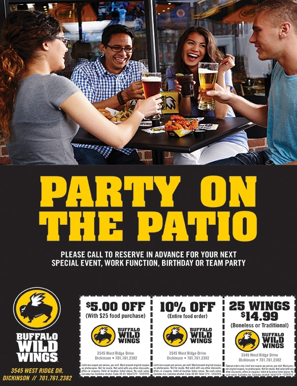 Buffalo Wild Wings We-Prints Plus Newspaper Insert by Any Door Marketing