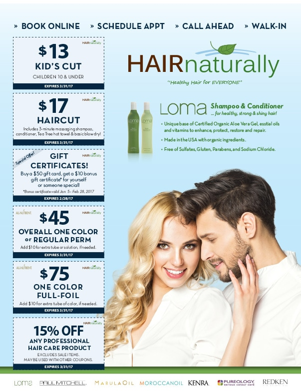 Hair Naturally We-Prints Plus Newspaper Insert by Any Door Marketing