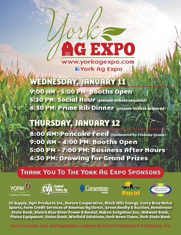 York Ag Expo We-Prints Plus Newspaper Insert by Any Door Marketing