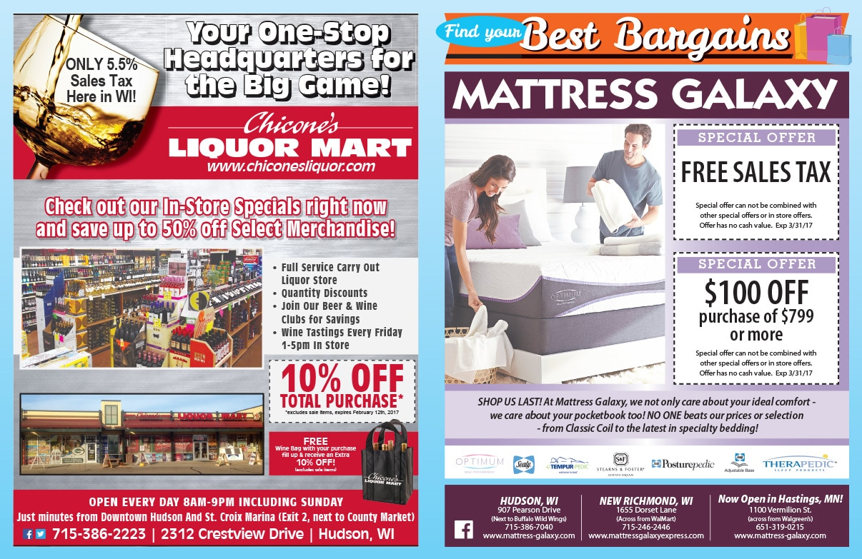 Best Bargains We-Prints Plus Newspaper Insert by Any Door Marketing