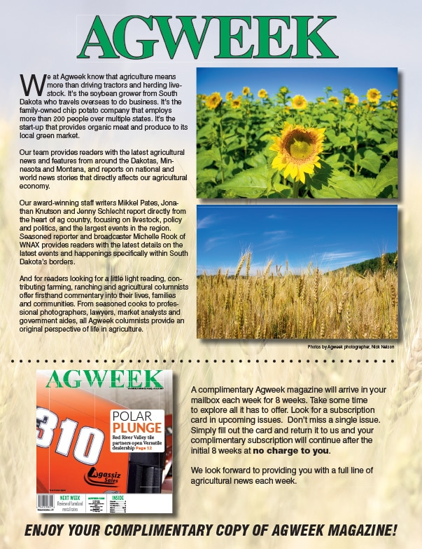 AgWeek We-Prints Plus Newspaper Insert by Any Door Marketing