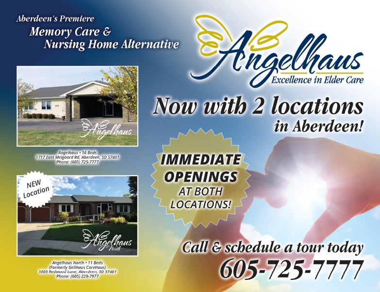 Angelhaus Senior Living We-Prints Plus Newspaper Insert by Any Door Marketing