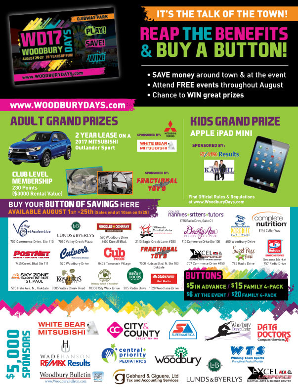 Woodbury Days We-Prints Plus Newspaper Insert by Any Door Marketing