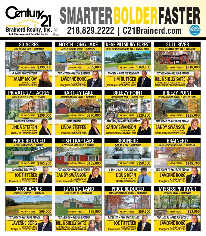 Century 21 Realty We-Prints Plus Newspaper Insert by Any Door Marketing