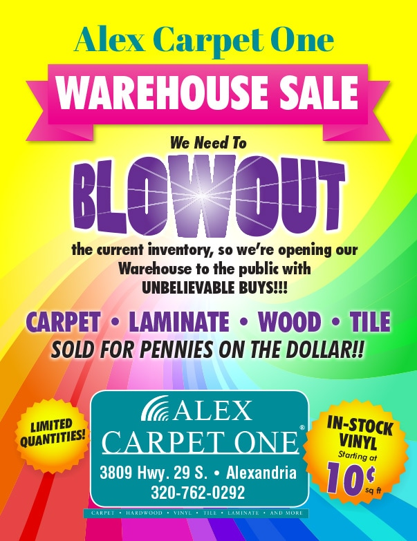 Alex Carpet One We-Prints Plus newspaper insert by Any Door Marketing
