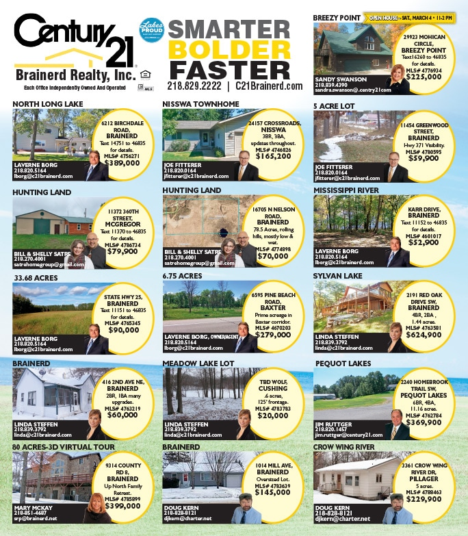 Century 21 We-Prints Plus JUMBO newspaper insert by Any Door Marketing