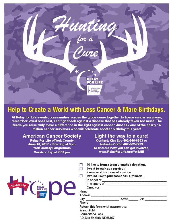 American Cancer Society We-Prints Plus Newspaper Insert by Any Door Marketing