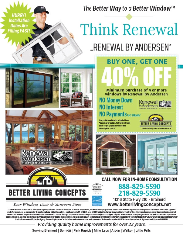 Better Living Concepts We-Prints Plus Newspaper Insert by Any Door Marketing