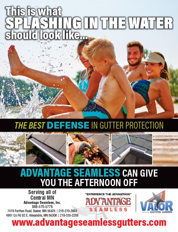 Advantage Seamless Gutters We-Prints Plus Newspaper Insert by Any Door Marketing