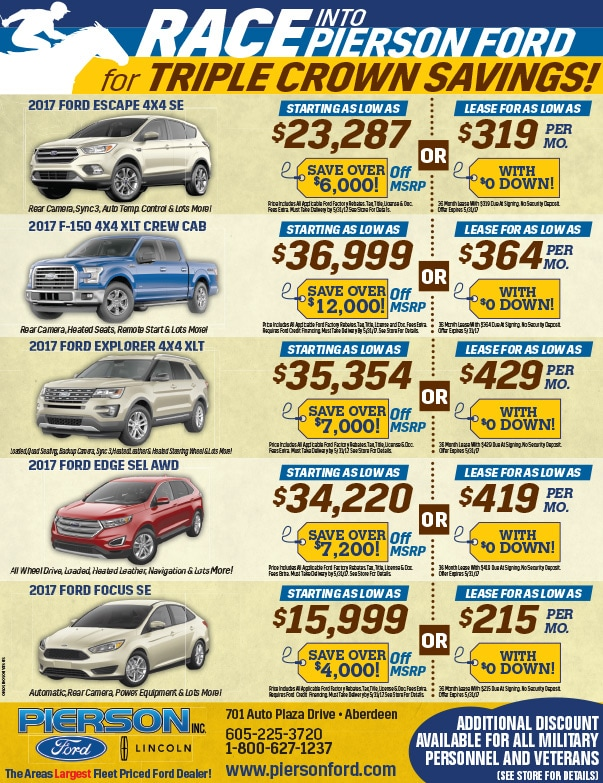 Pierson Ford We-Prints Plus Newspaper Insert by Any Door Marketing