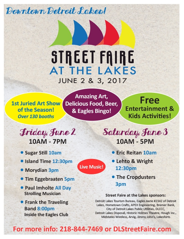 Street Faire At The Lakes We-Prints Plus Newspaper Insert by Any Door Marketing