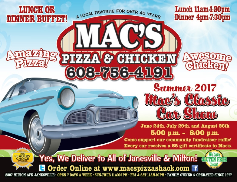 Mac's Pizza and Chicken We-Prints Plus Newspaper Inserts by Any Door Marketing