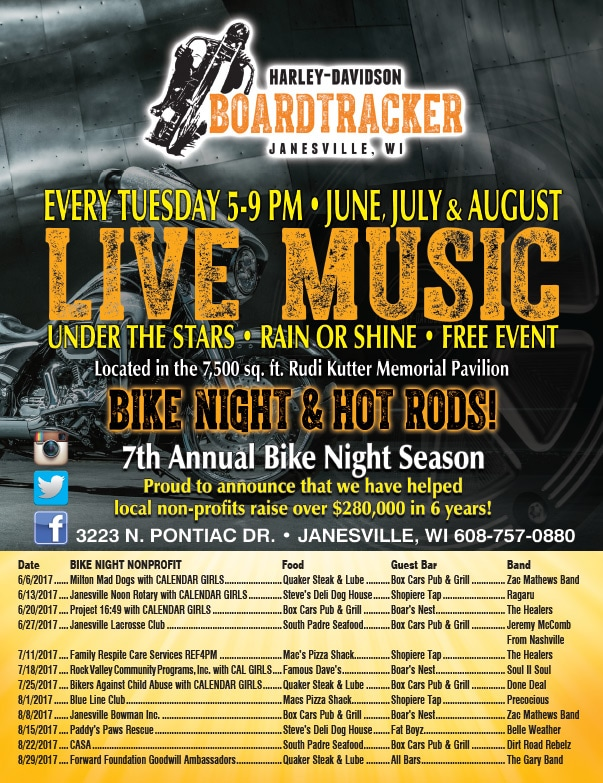 Harley Davidson Boardtracker We-Prints Plus Newspaper Insert by Any Door Marketing