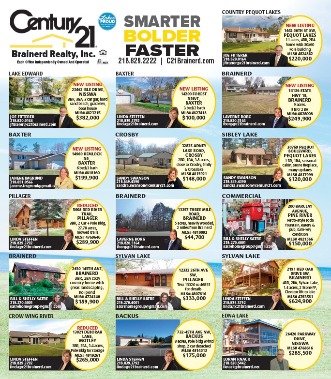 Century 21 Brainerd Realty We-Prints Plus Newspaper Insert by Any Door Marketing