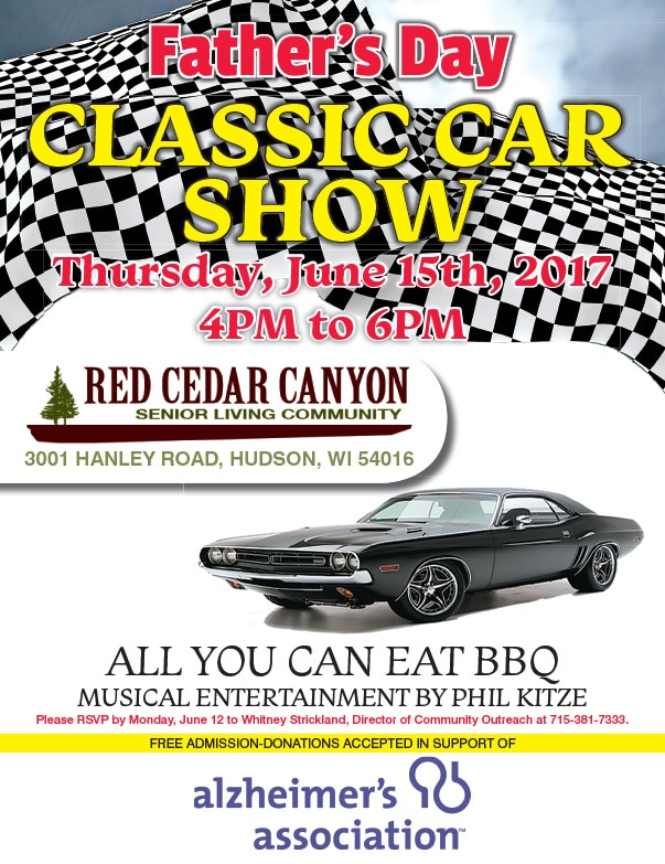Red Cedar Canyon Senior Living Car Show We-Prints Plus Newspaper Insert by Any Door Marketing