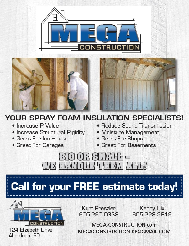 Mega Construction We-Prints Plus Newspaper Insert by Any Door Marketing