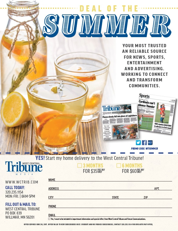West Central Tribune We-Prints Plus Newspaper Insert by Any Door Marketing