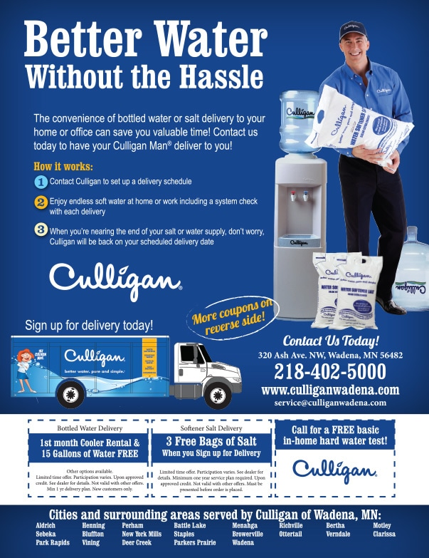 Culligan We-Prints Plus Newspaper Insert by Any Door Marketing