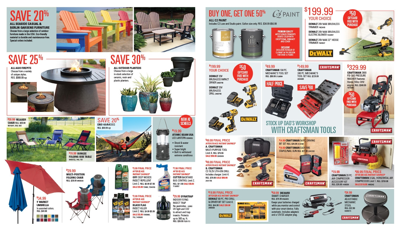 Scheels Home and Hardware We-Prints Plus Newspaper Insert by Any Door Marketing
