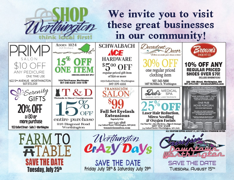 Shop Worthington We-Prints Plus Newspaper Insert by Any Door Marketing