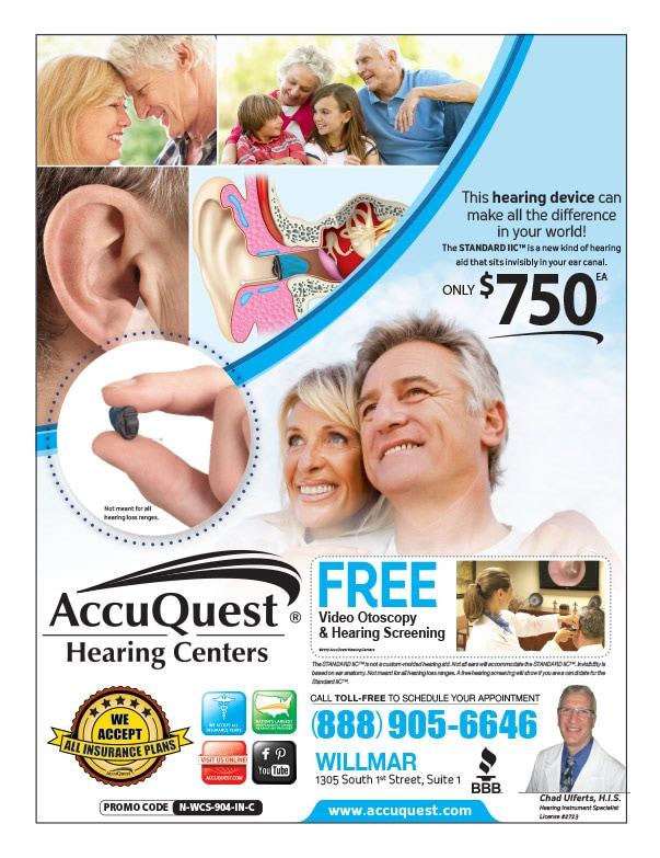 Accuquest Hearing Center We-Prints Plus Newspaper Insert by Any Door Marketing
