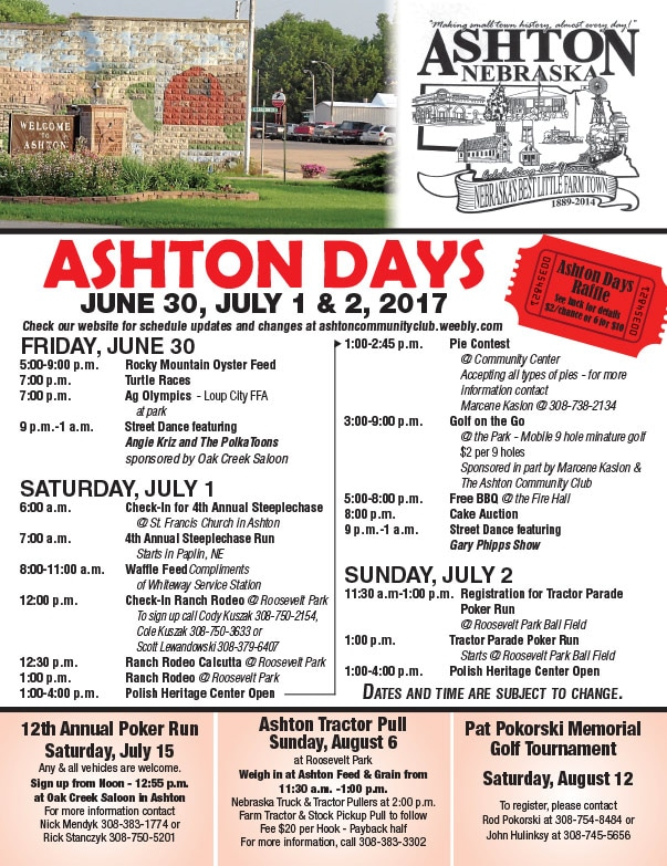 Ashton Days We-Prints Plus Newspaper Insert by Any Door Marketing