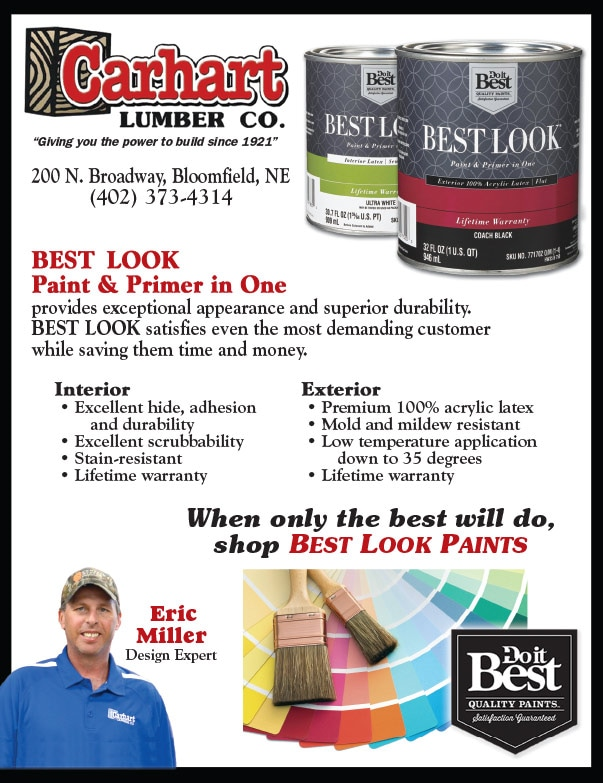 Carhart Lumber Co. We-Prints Plus Newspaper Insert by Any Door Marketing