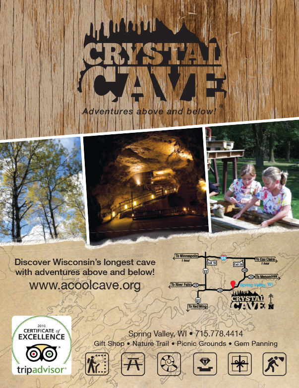 Crystal Cave We-Prints Plus Newspaper Insert by Any Door Marketing