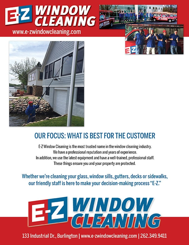 EZ Window Cleaning We-Prints Plus Newspaper Insert by Any Door Marketing
