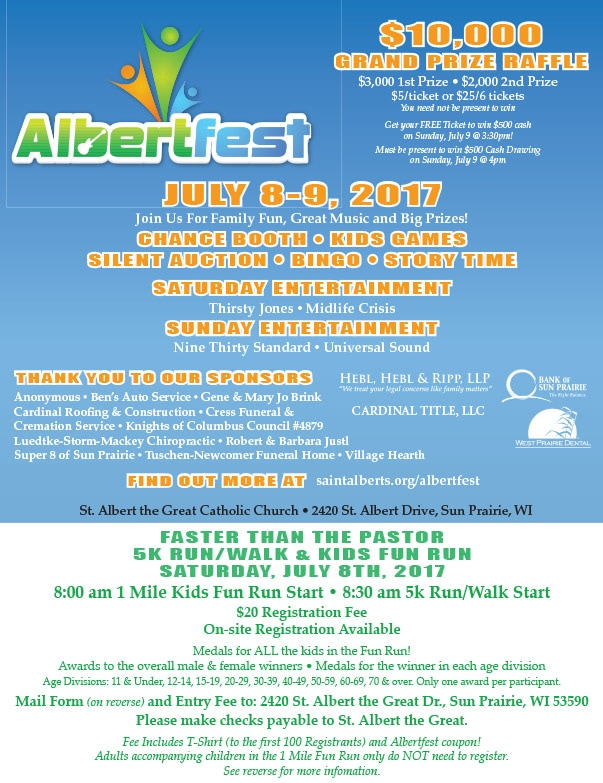 Albertfest We-Prints Plus Newspaper Insert by Any Door Marketing