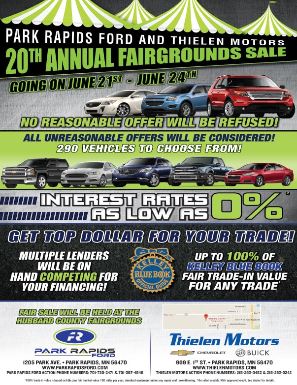 Thielen Motors We-Prints Plus Newspaper Insert by Any Door Marketing