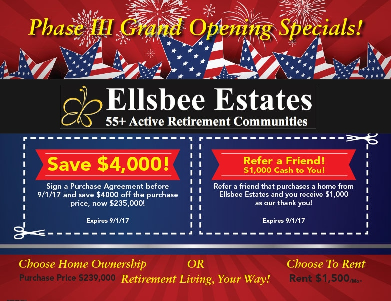 Ellsbee Estates We-Prints Plus Newspaper Insert by Any Door Marketing