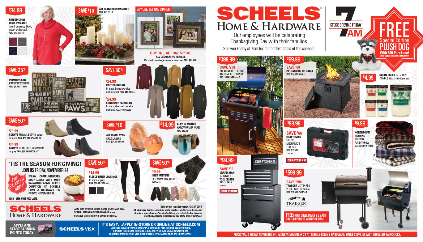 Scheels Home and Hardware We-Prints Plus Newspaper Insert printed by Any Door Marketing