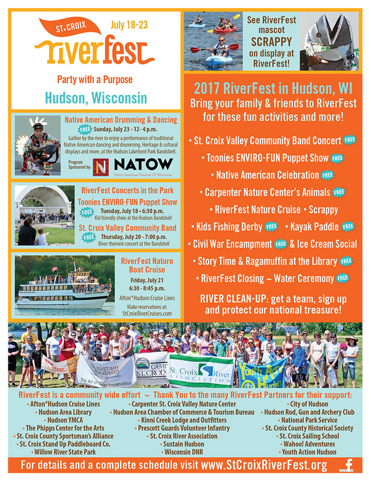 St. Croix Riverfest We-Prints Plus Newspaper Insert by Any Door Marketing