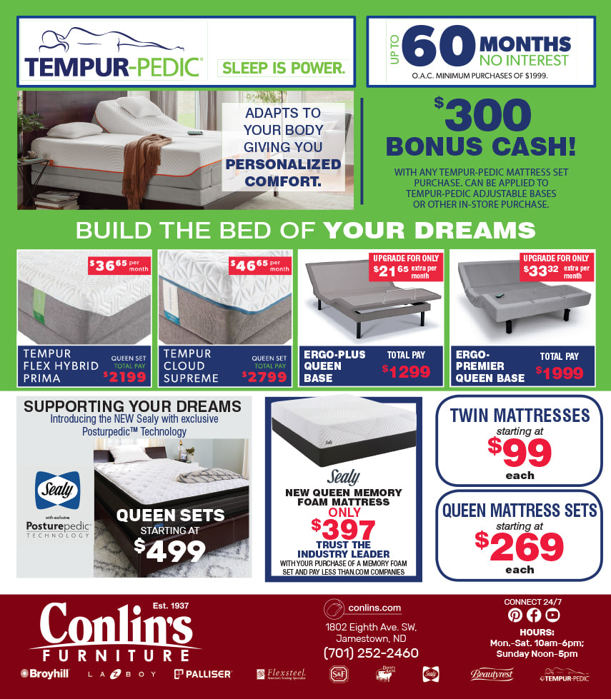 Conlin's Furniture We-Prints Plus Newspaper Insert by Any Door Marketing
