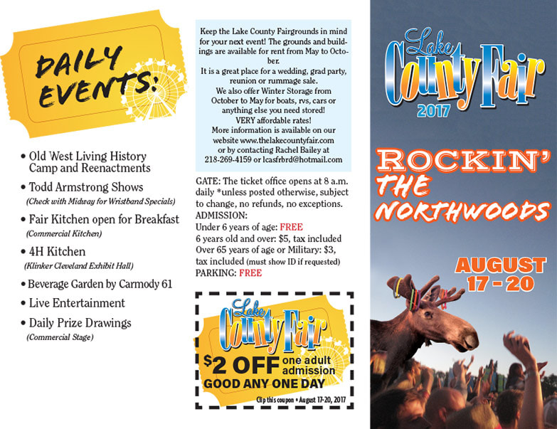 Northwoods Lake County Fair We-Prints Plus Newspaper Insert by Any Door Marketing