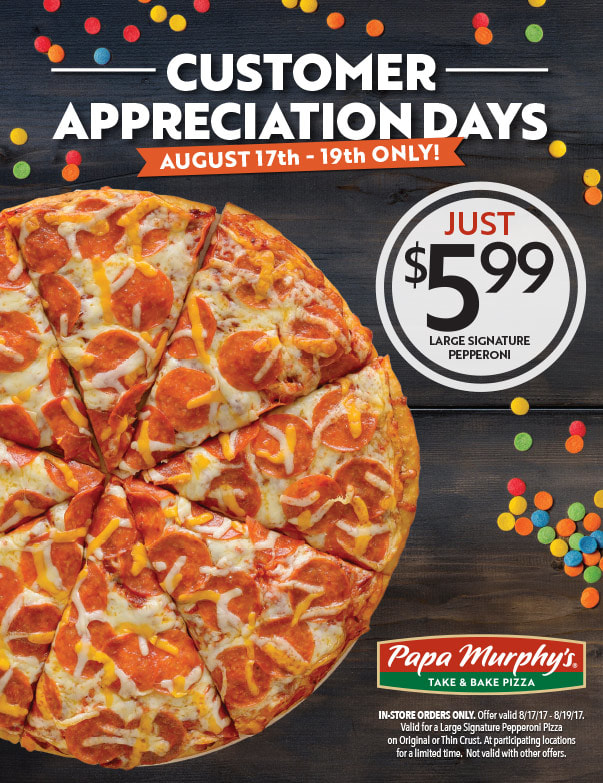 Papa Murphy's Pizza We-Prints Plus Newspaper Insert by Any Door Marketing