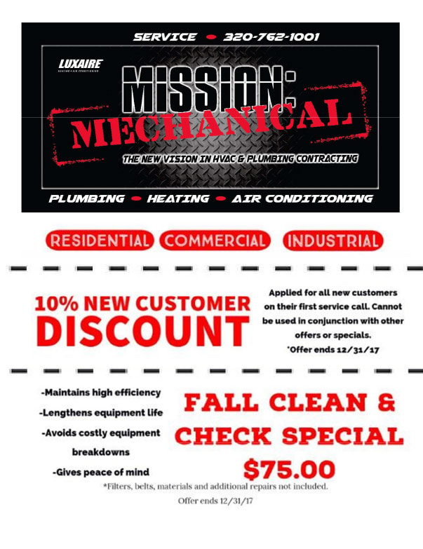 Mission Mechanical We-Prints Plus Newspaper Insert by Any Door Marketing