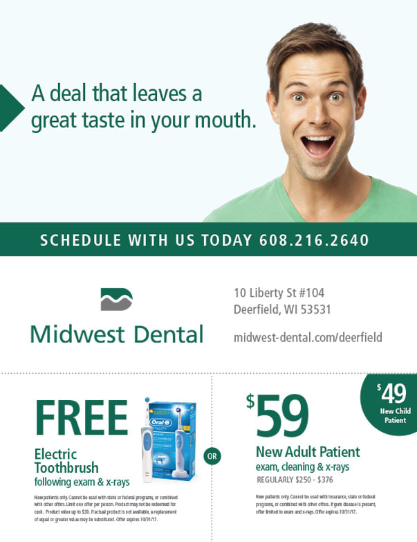 Midwest Dental We-Prints Plus Newspaper Insert by Any Door Marketing