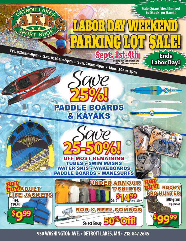 Detroit Lakes Sport Shop We-Prints Plus Newspaper Insert by Any Door Marketing