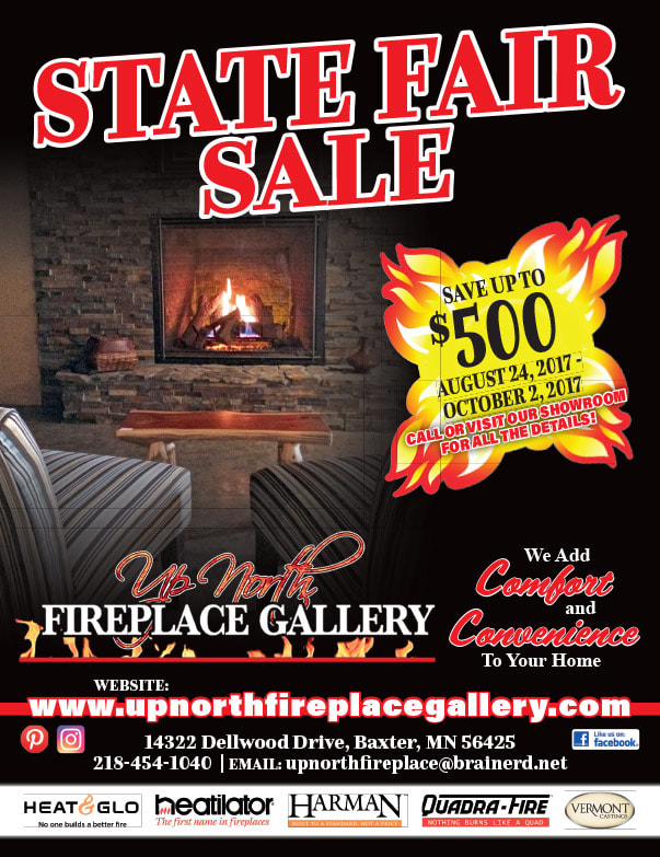 Up North Fireplace We-Prints Plus Newspaper Insert by Any Door Marketing