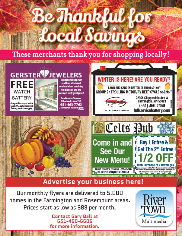 Farmington Shop Local We-Prints Plus Newspaper Insert printed by Any Door Marketing