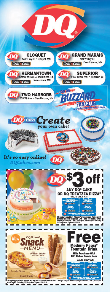 Dairy Queen We-Prints Plus Newspaper Insert by Any Door Marketing