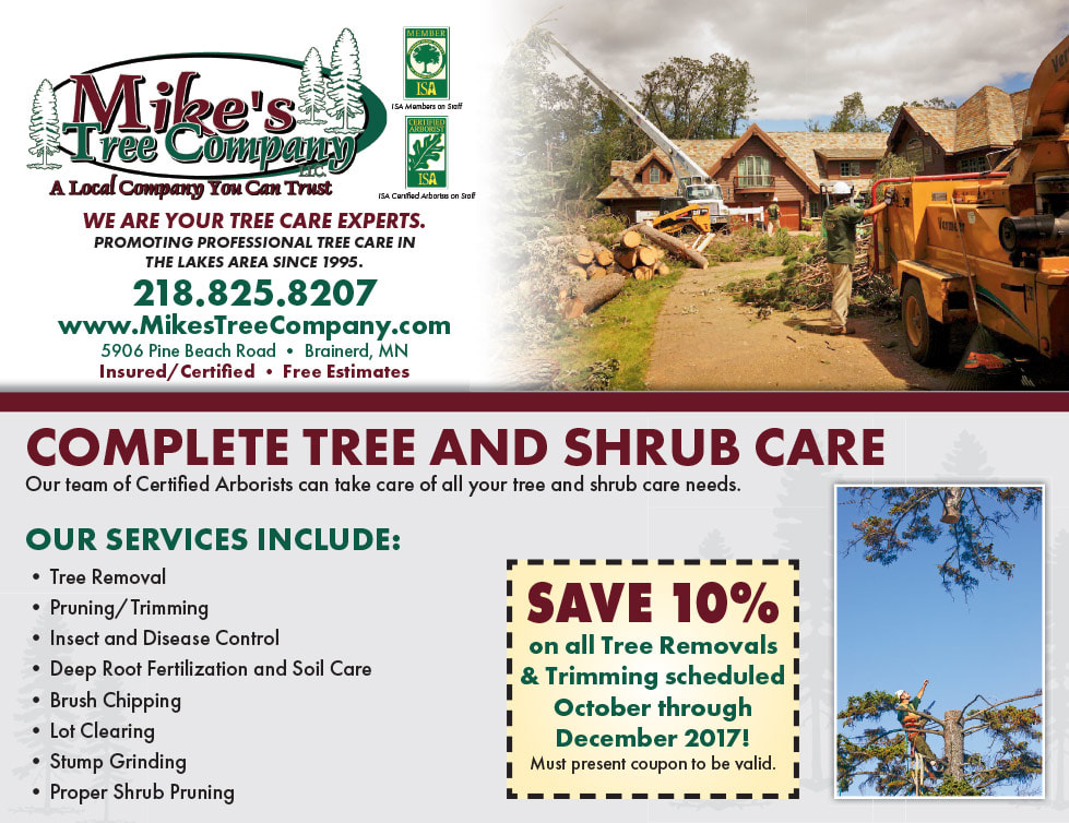 Mike's Tree Company We-Prints Plus Newspaper Insert by Any Door Marketing