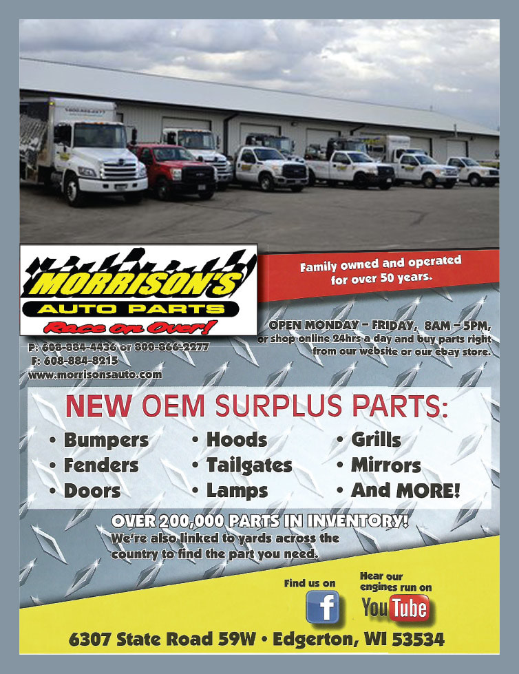 Morrison's Auto Parts We-Prints Plus Newspaper Insert by Any Door Marketing