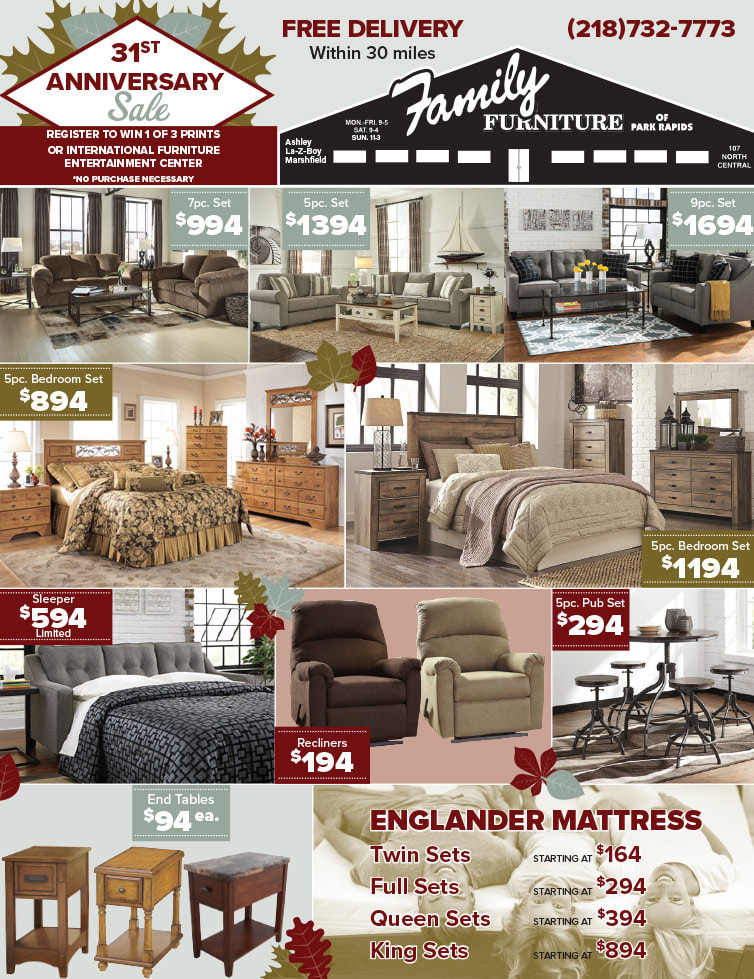 Family Furniture We-Prints Plus Newspaper Insert by Any Door Marketing