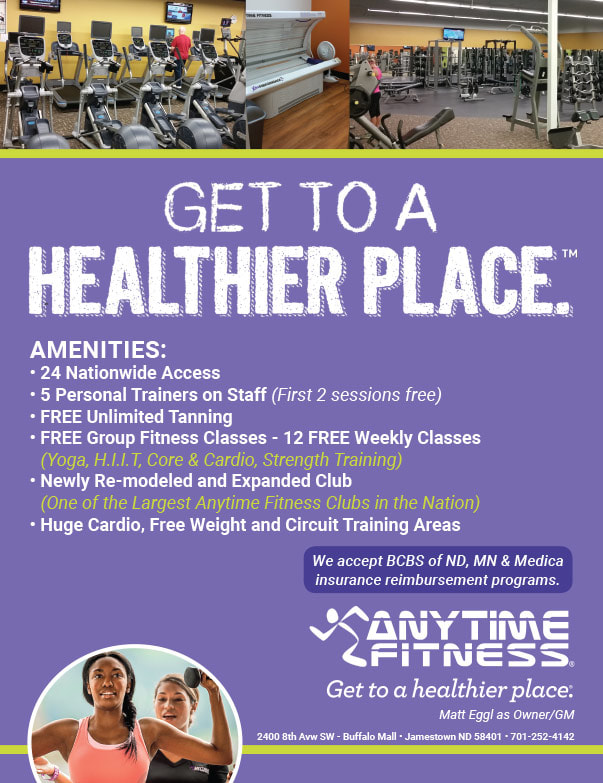 Anytime Fitness We-Prints Plus Newspaper Insert by Any Door Marketing