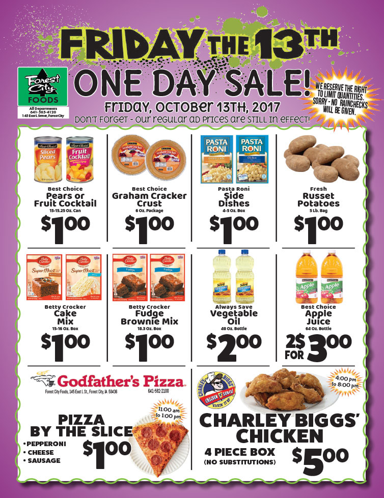 Forest City Foods We-Prints Plus Newspaper Insert by Any Door Marketing